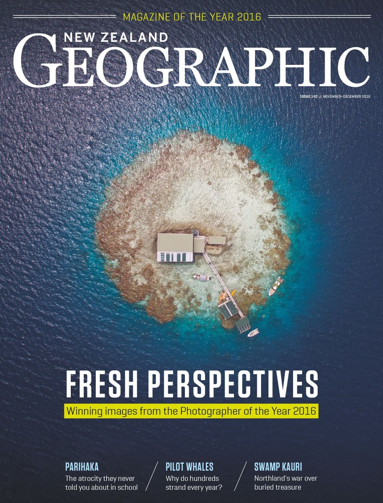 New Zealand Geographic magazine